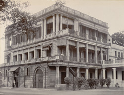 A.A.G.'s Qrs, Fort St George, Madras, 1902